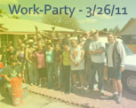 Work Party 2011 - 3/26/11