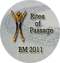 Button - 2011- Rites of Passage